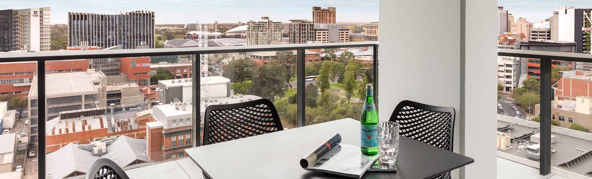 Avani Adelaide private balcony with modern facilities