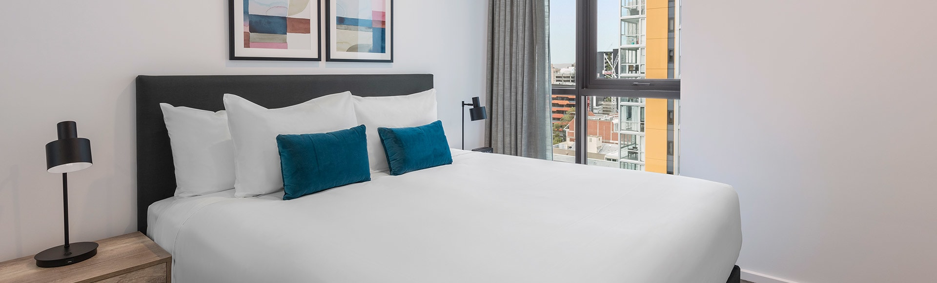Contemporary style suites at Avani Adelaide