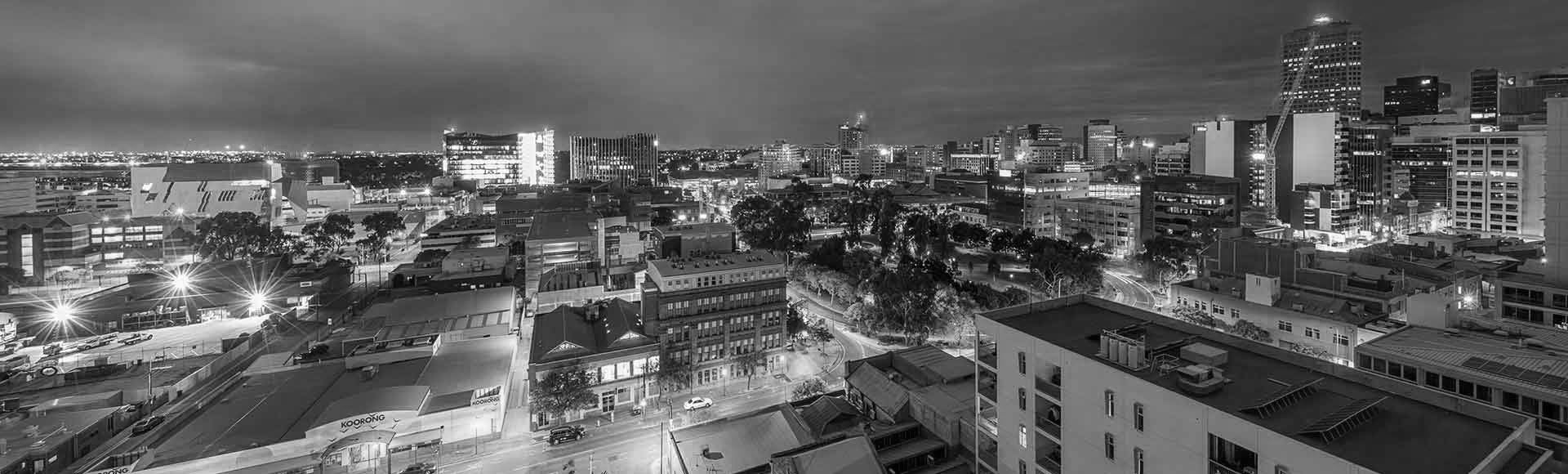 Stunning Adelaide city view from Avani Adelaide