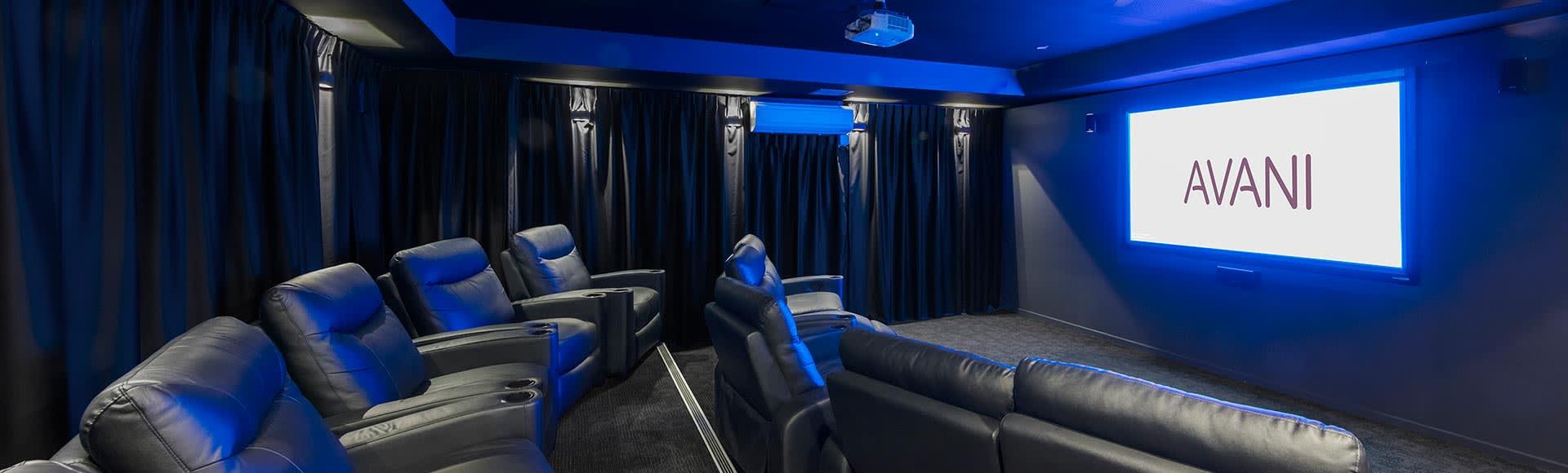 State-of-the-art screening room by Avani Adelaide