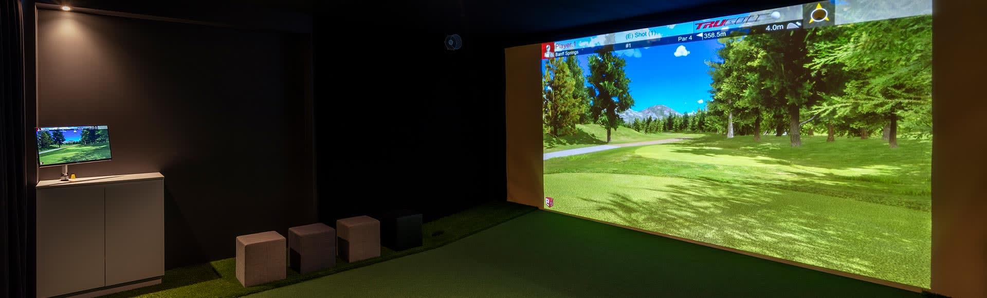 Golf Simulator at Avani Adelaide Residences