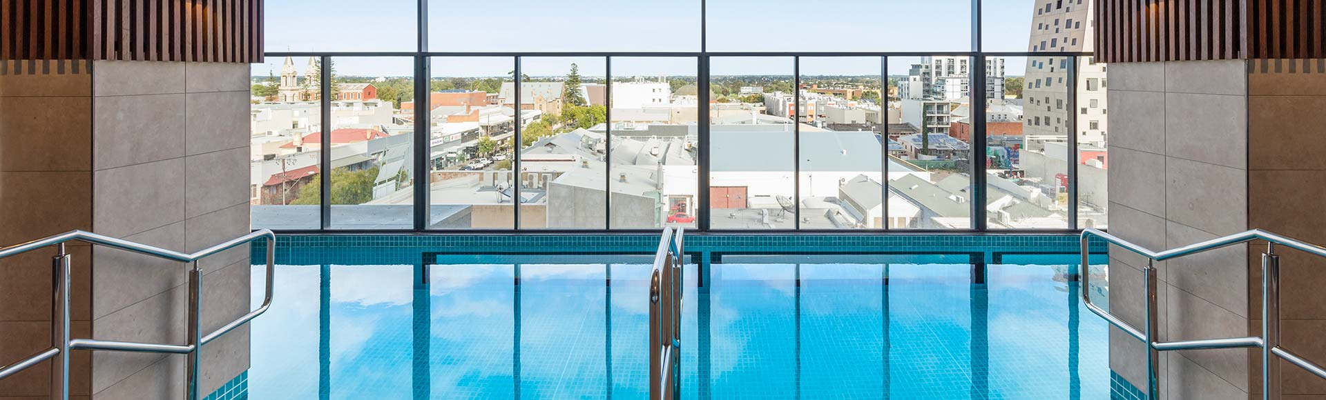 Outdoor swimming pool at Avani Adelaide