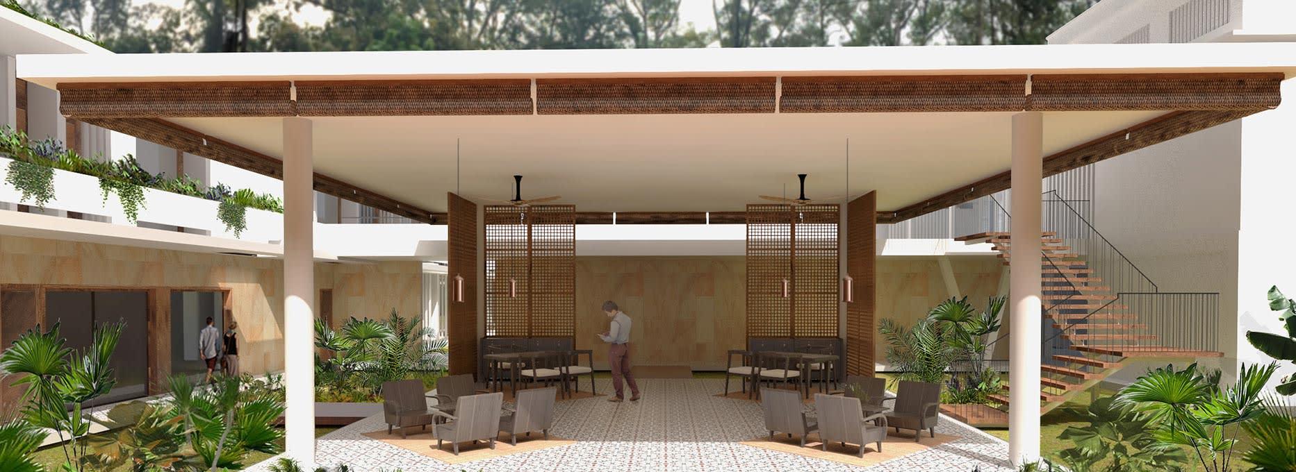 Lobby at FCC Angkor, Managed by Avani Hotels & Resorts