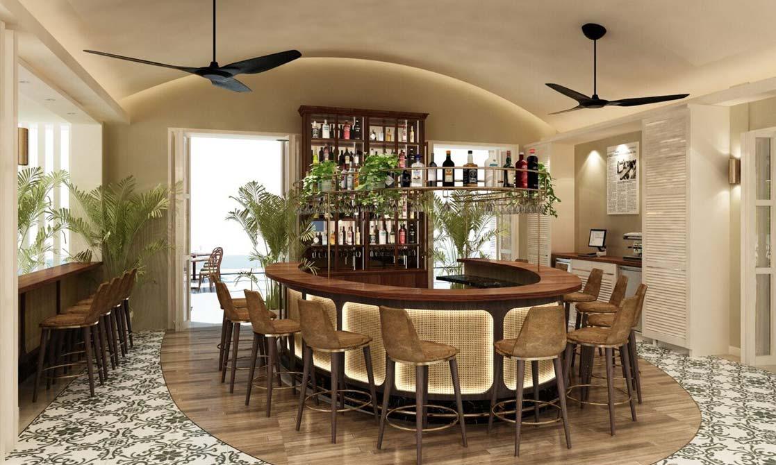 Scribe Bar and Grill at FCC Angkor, Managed by Avani Hotels & Resorts