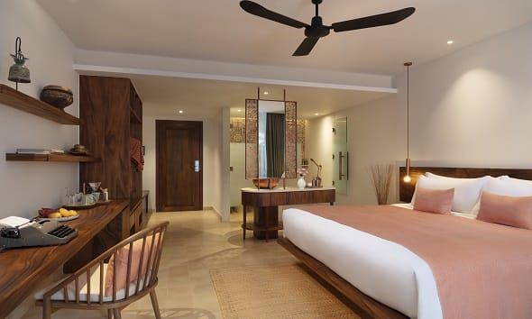 Premier Room Bedroom, FCC Angkor by Avani