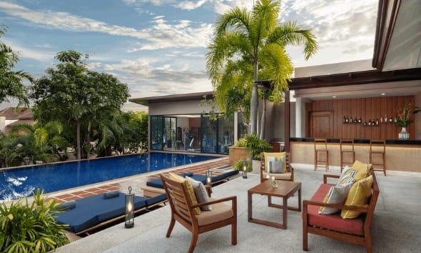 Orchid Pool at Avani Ao Nang Cliff Krabi Resort