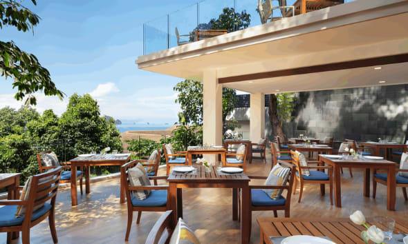 Pano Cafe at Avani Ao Nang Cliff Krabi Resort