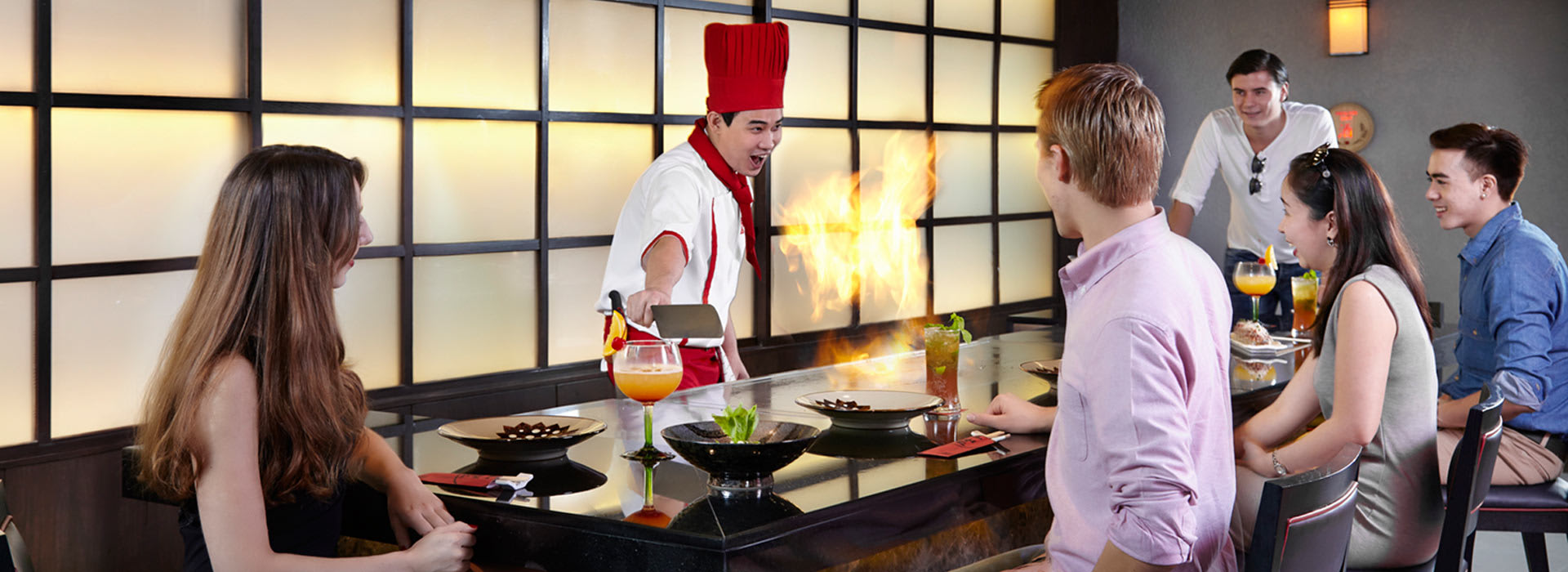 Benihana restaurant is among best dining in Bangkok