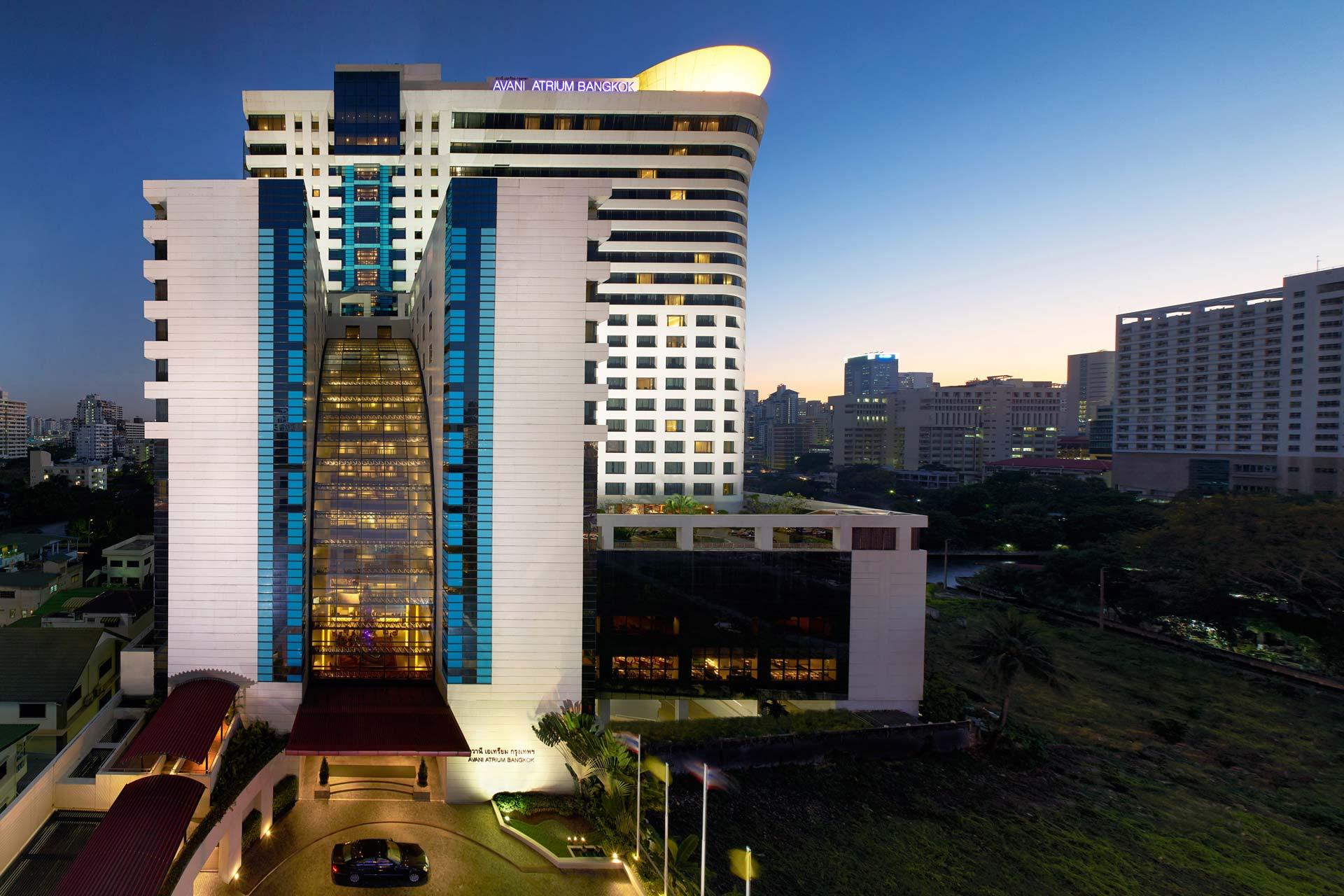 Exterior view of Atrium Bangkok Hotel