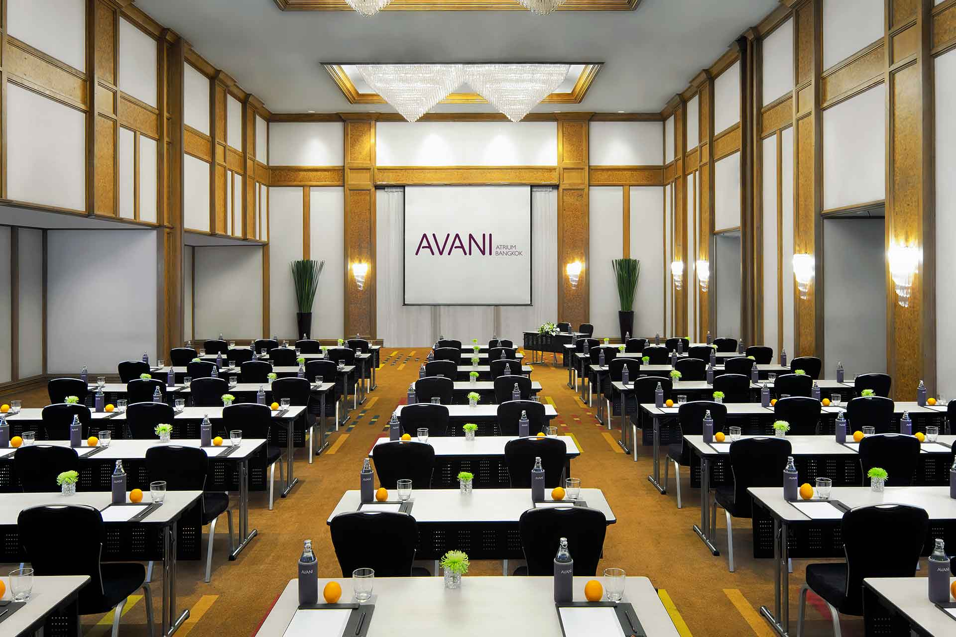Interior of a meeting room at AVANI Atrium