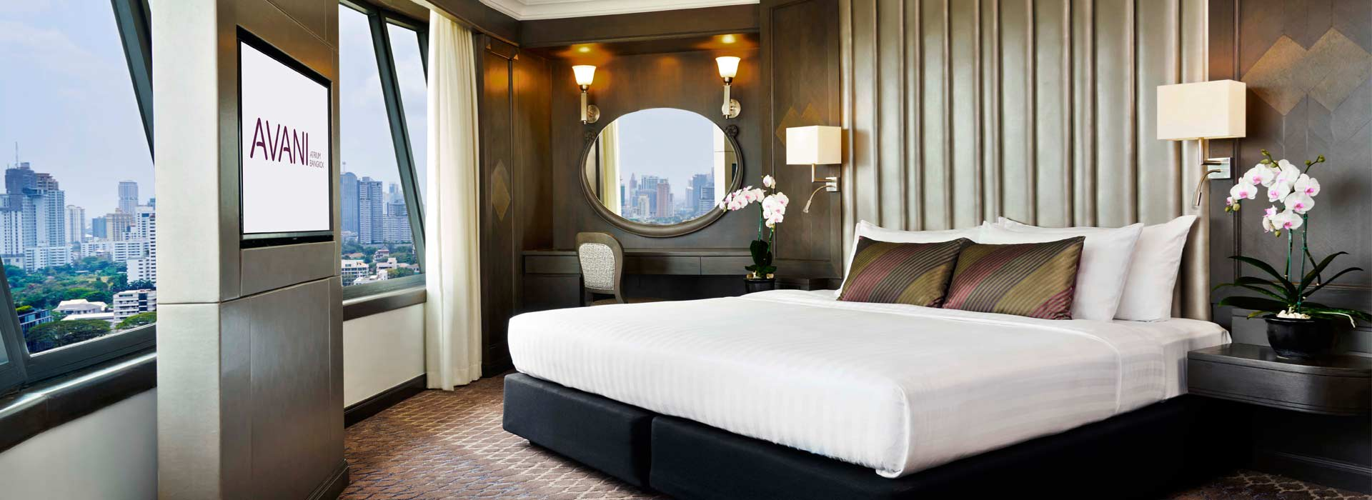 Grand Executive suite of one of the Bangkok City Hotels