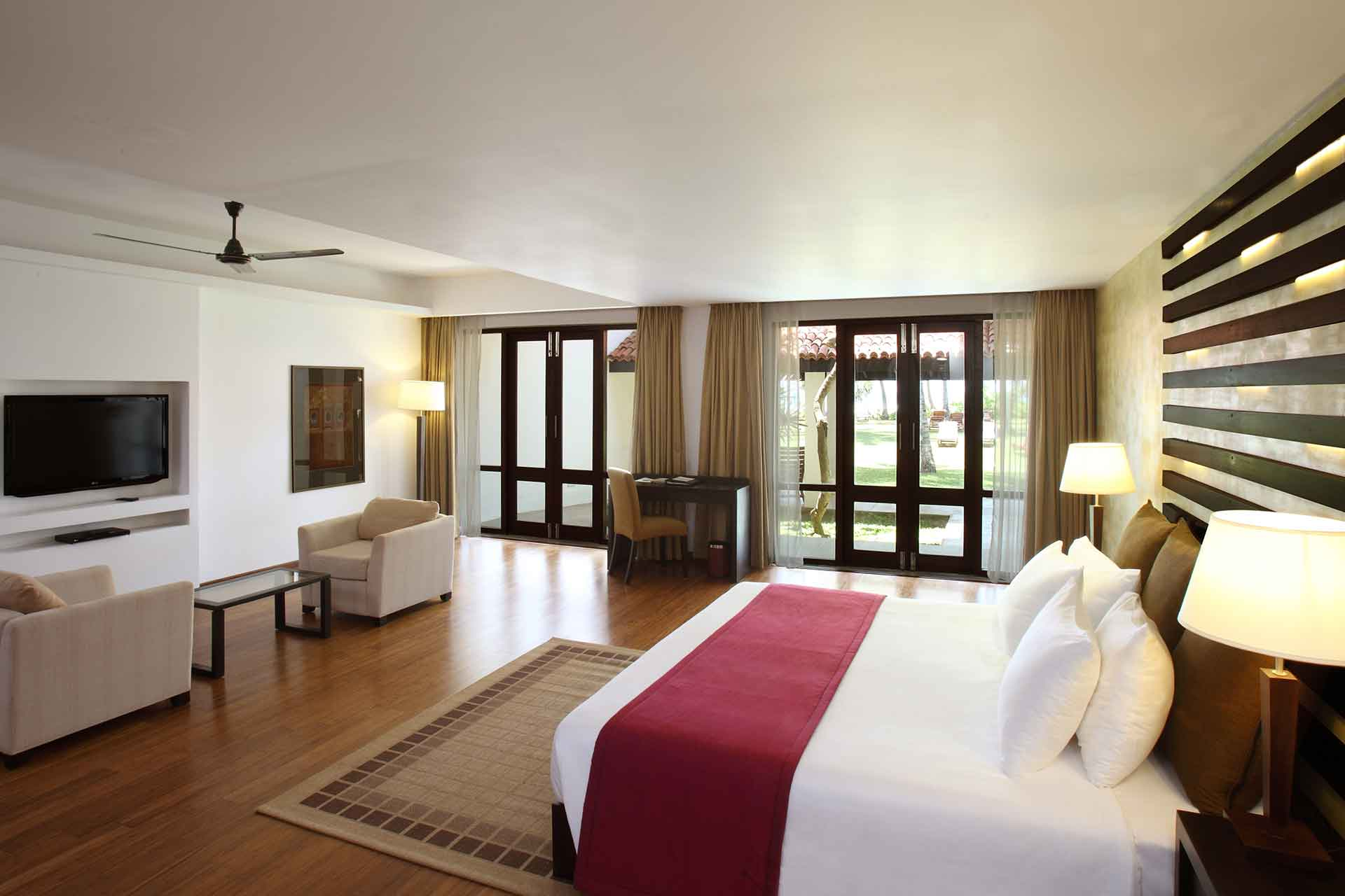 A deluxe room interior of AVANI Bentota