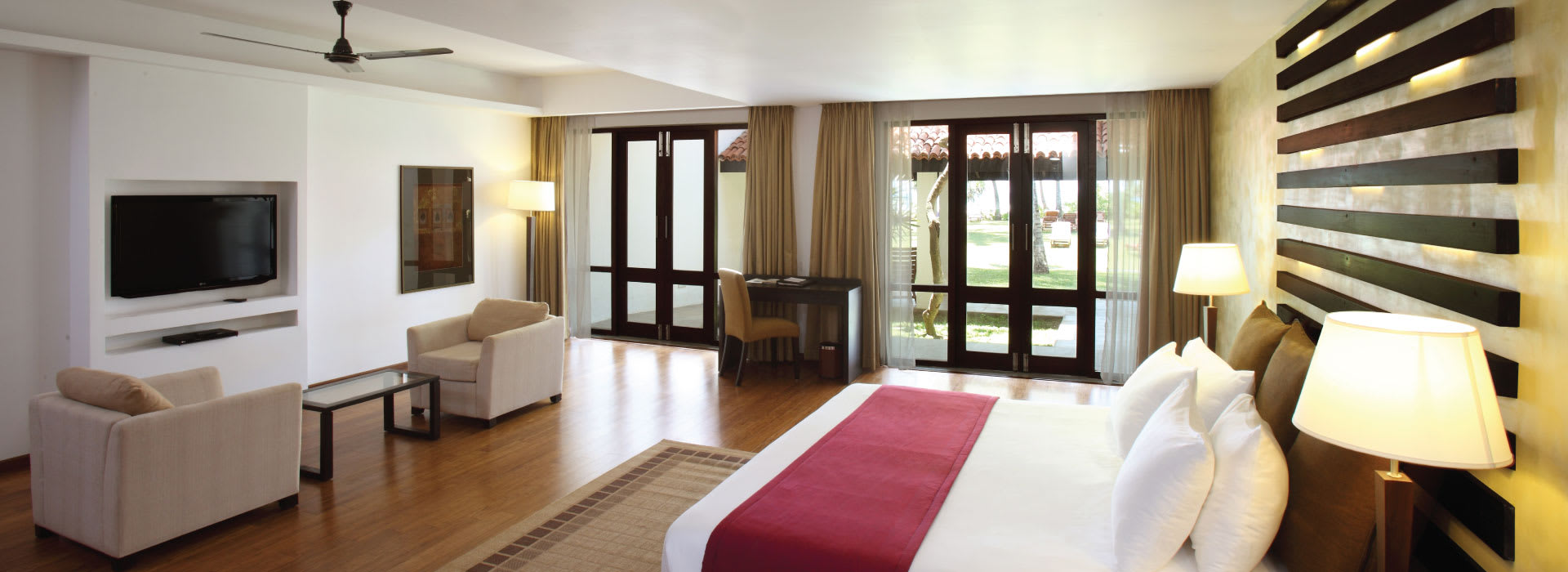 Cozy rooms at a discount with special Hotel Package Bentota