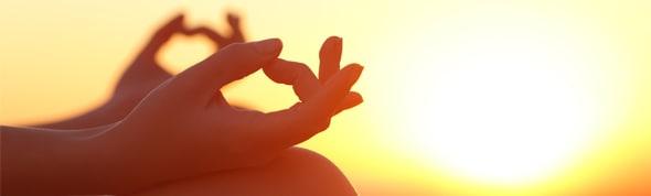 Practicing Yoga at AVANI Bentota Resort