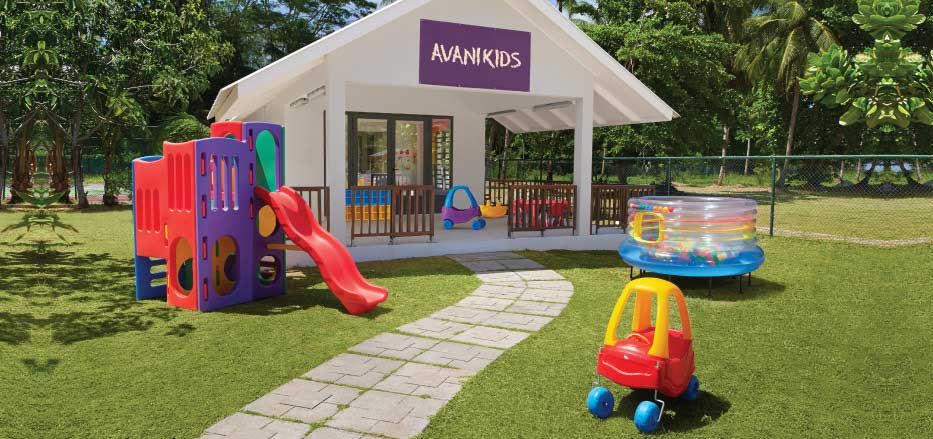 Play area of an Avanikids club