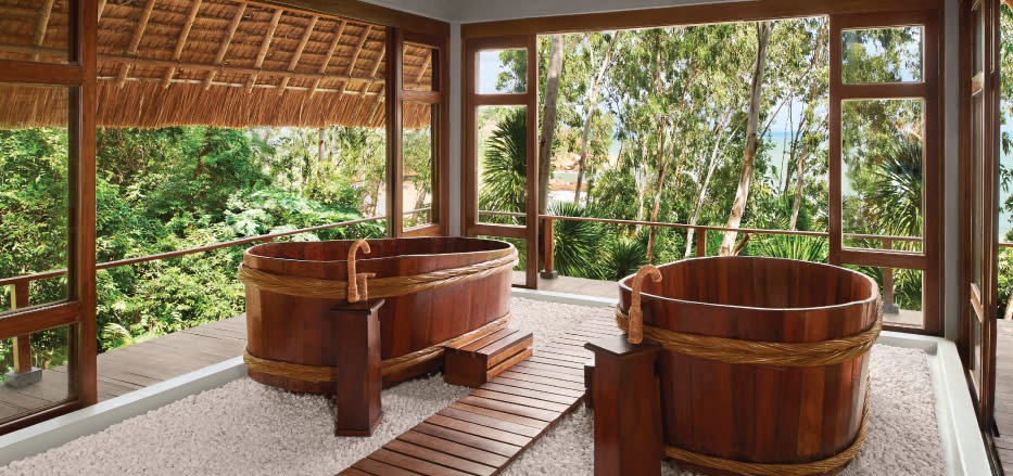 Spa tubs at AVANI Spa Resorts Asia