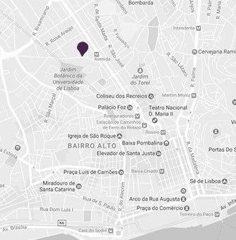 AVANI Avenida Liberdade Lisbon Hotel - Map