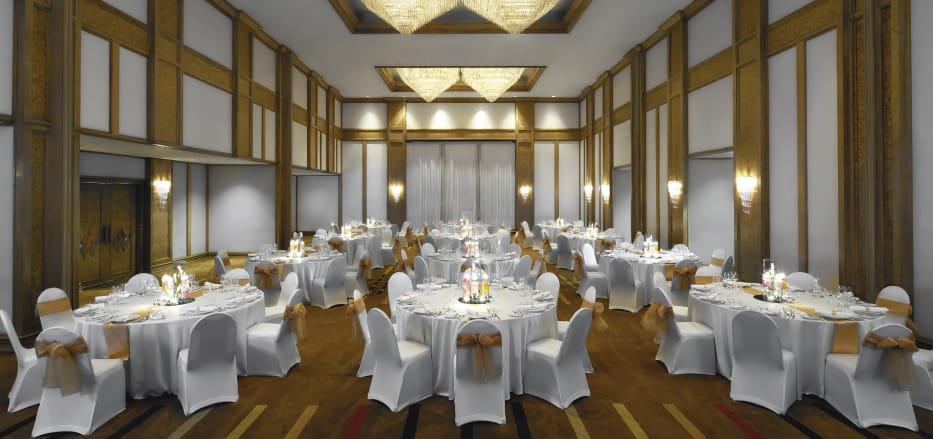 Ballroom setup of AVANI Atrium