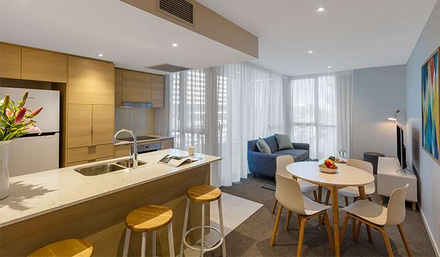 Avani Broadbeach 1 bedroom suite living out Gold Coast