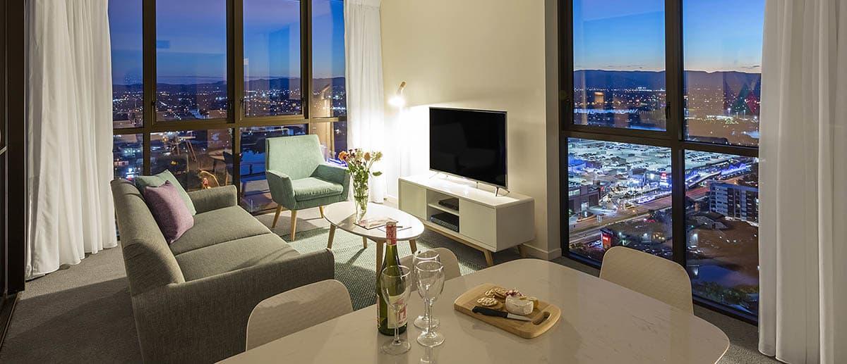 Two Bedroom Suite At Avani Broadbeach Gold Coast Residences