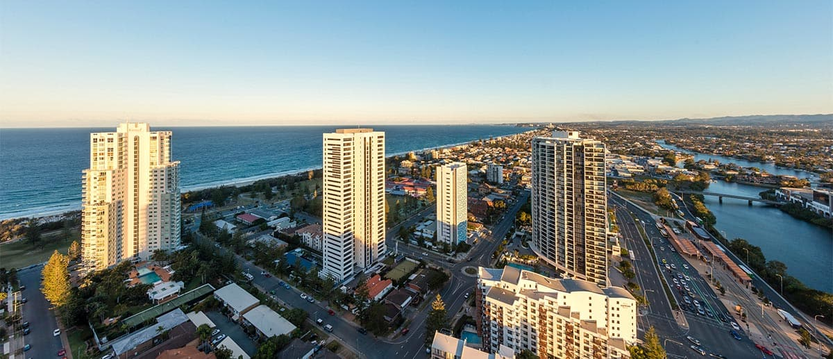 Ocean view at AVANI Broadbeach Gold Coast Hotel
