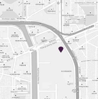 Map at Avani Central Busan