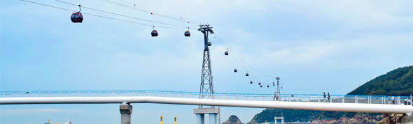 SONGDO BEACH CABLE CAR