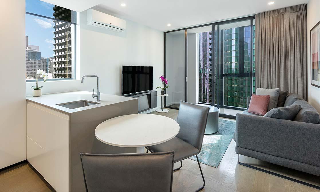 One Bedroom Superior Suite Avani Central Melbourne