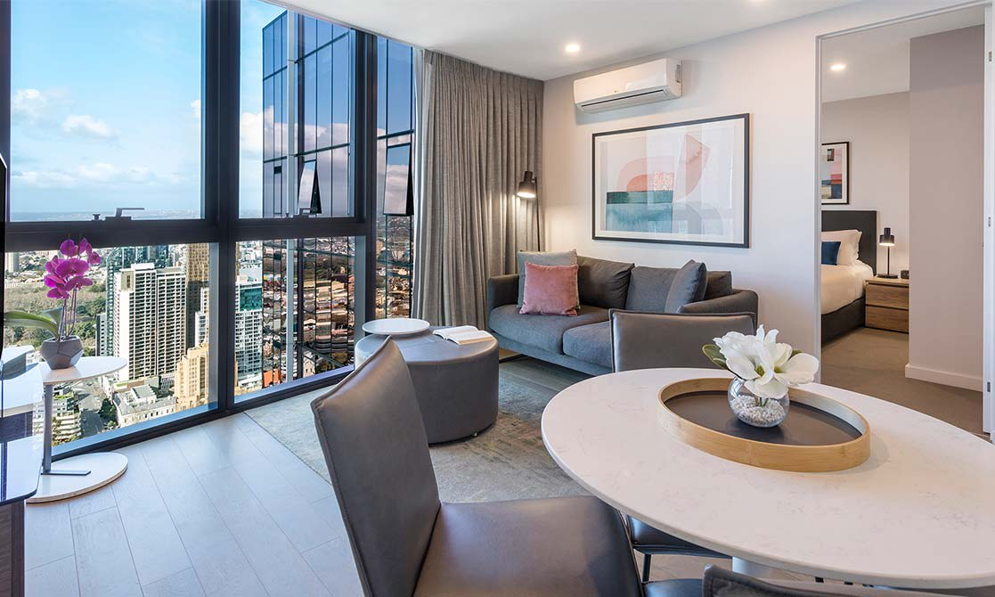 Two Bedroom Suite Avani Central Melbourne
