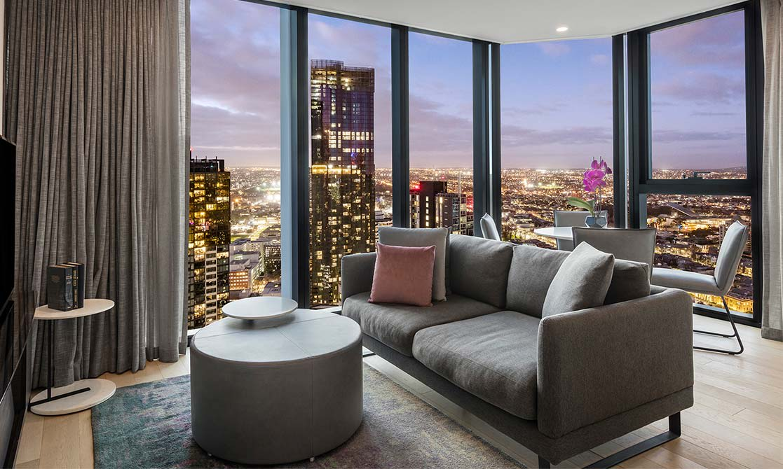 Two Bedroom Superior Suite Avani Central Melbourne