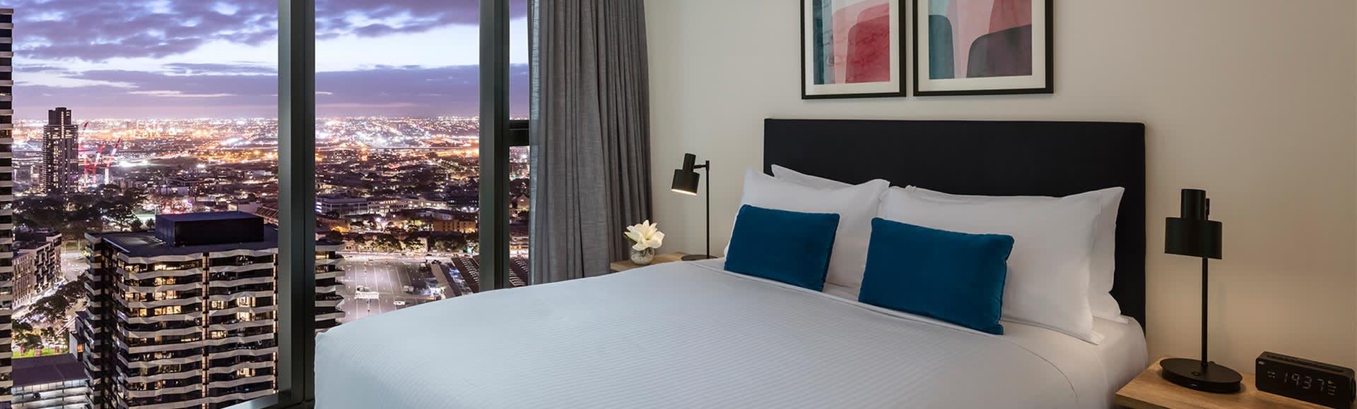 Avani Central Melbourne One Bedroom Suite