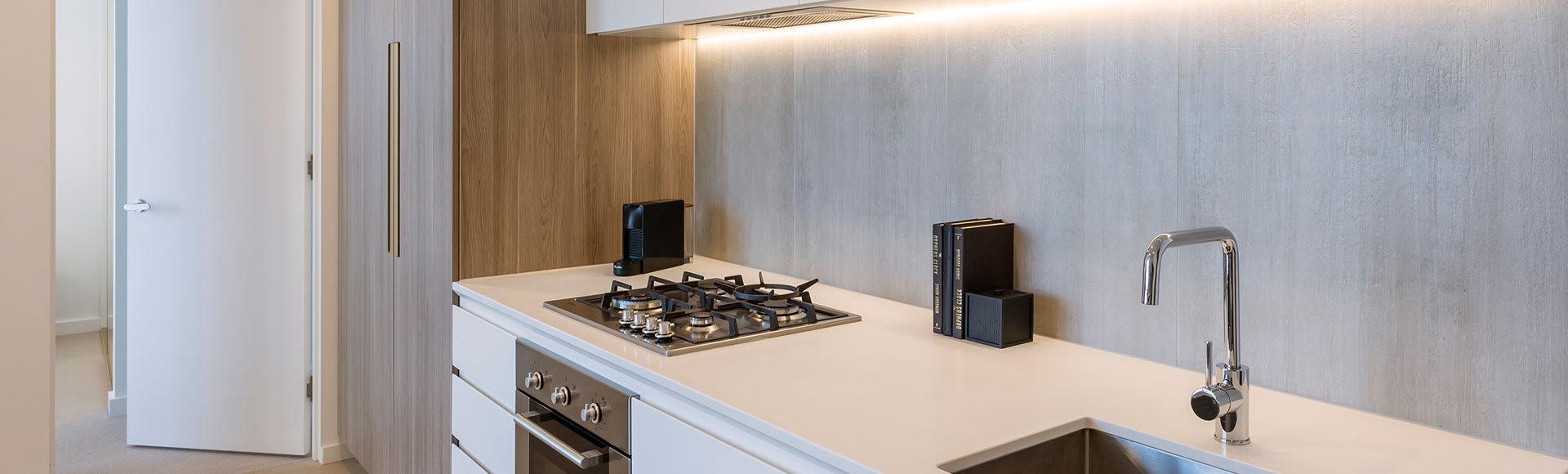 Avani Melbourne Central Residences 1 Bedroom Suite Kitchen
