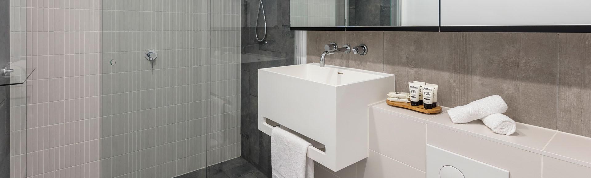Avani Melbourne Central Residences 1 Bedroom Superior Suite Bathroom