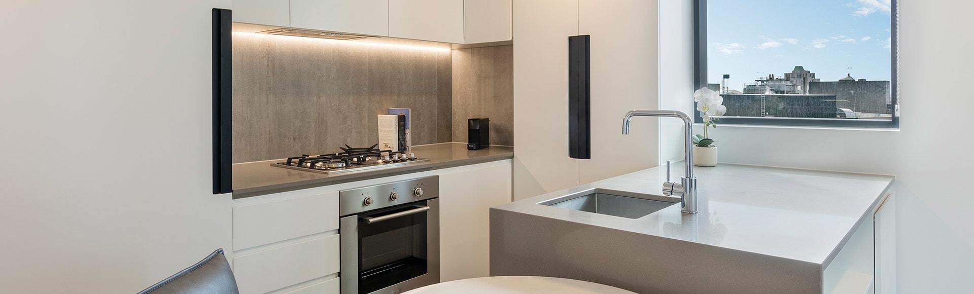 Avani Melbourne Central Residences 1 Bedroom Superior Suite Kitchen