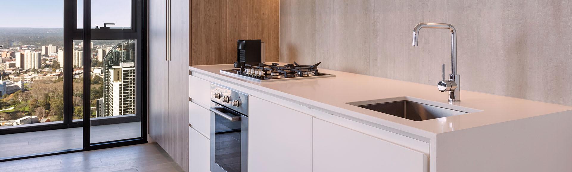 Avani Melbourne Central Residences 2 Bedroom Superior Suite Kitchen