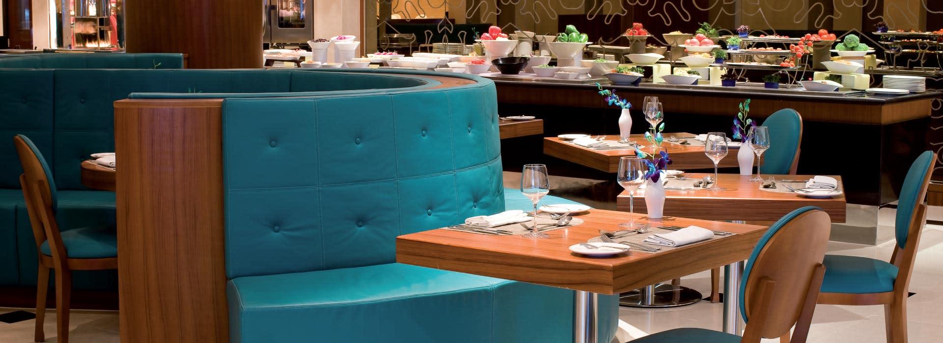 Jigsaw fine dining restaurant at AVANI Deira Dubai