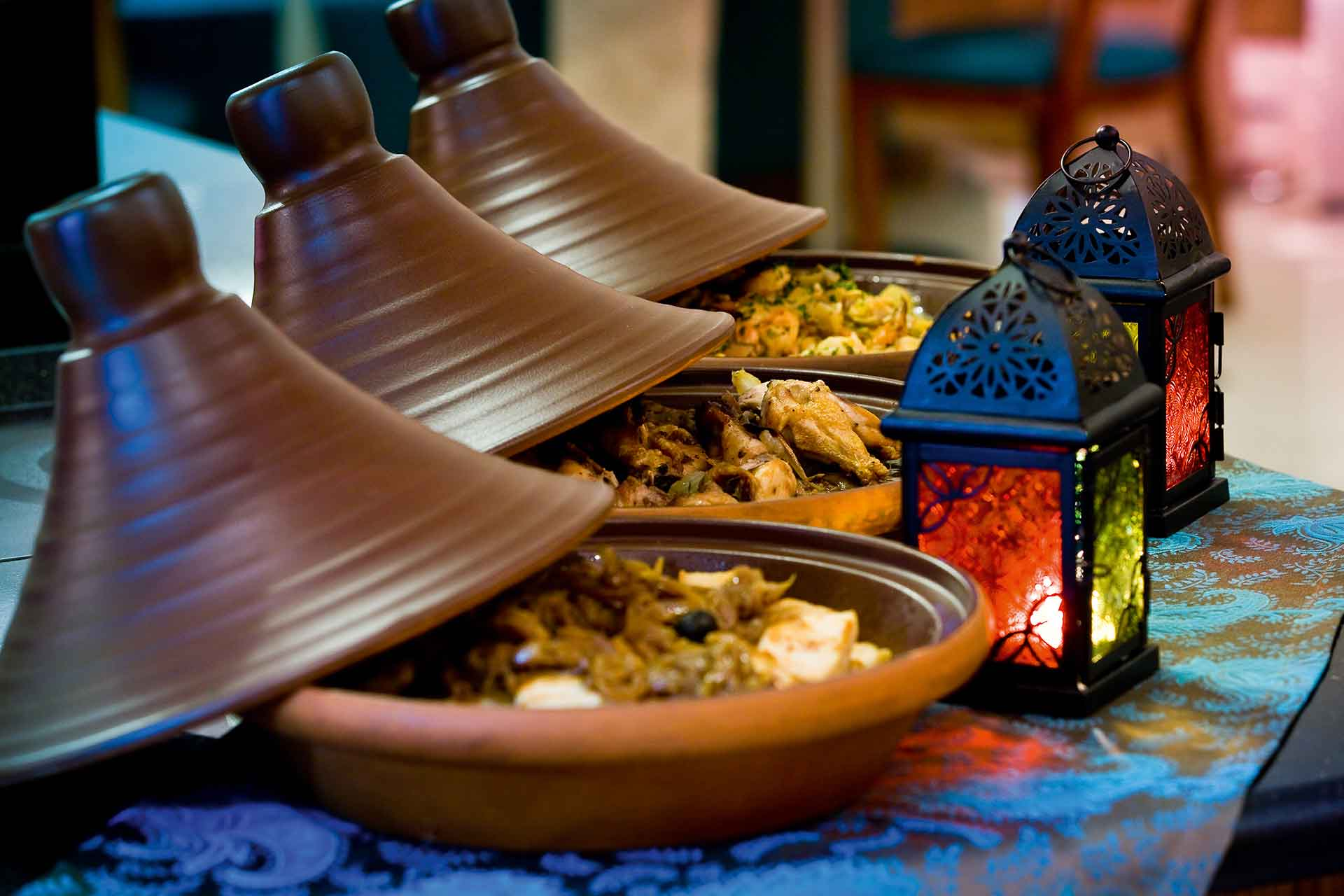 Arabic food corner at AVANI Deira Dubai Hotel