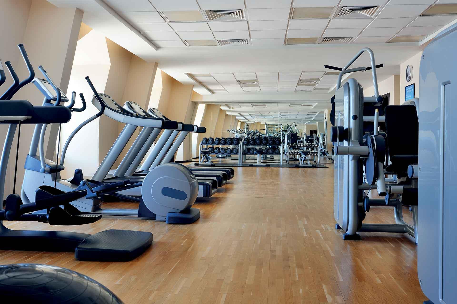 AVANI Deira Dubai Gym interior