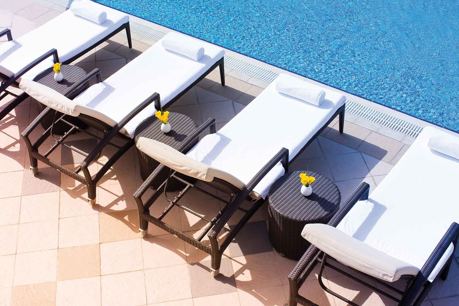 AVANI Deira Dubai Hotel Pool area view