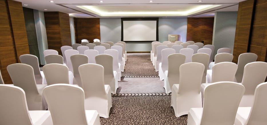 A meeting room of a Business Hotels in Dubai