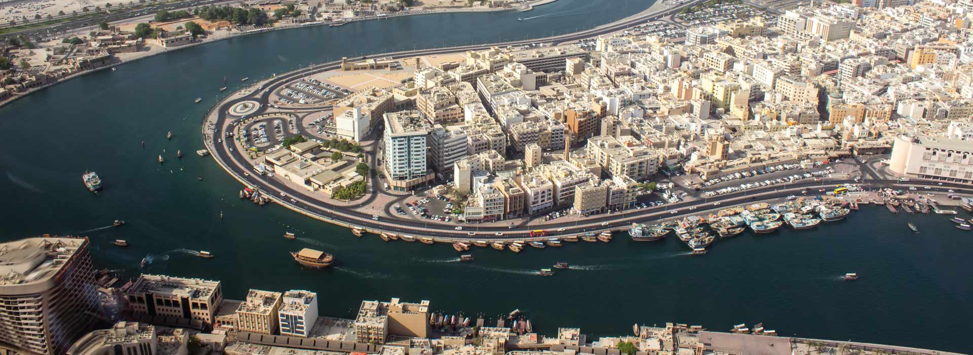 Helicopter tour is among things to do in Deira Dubai