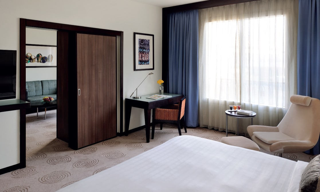 An executive suite at one of the Hotels in Dubai Deira