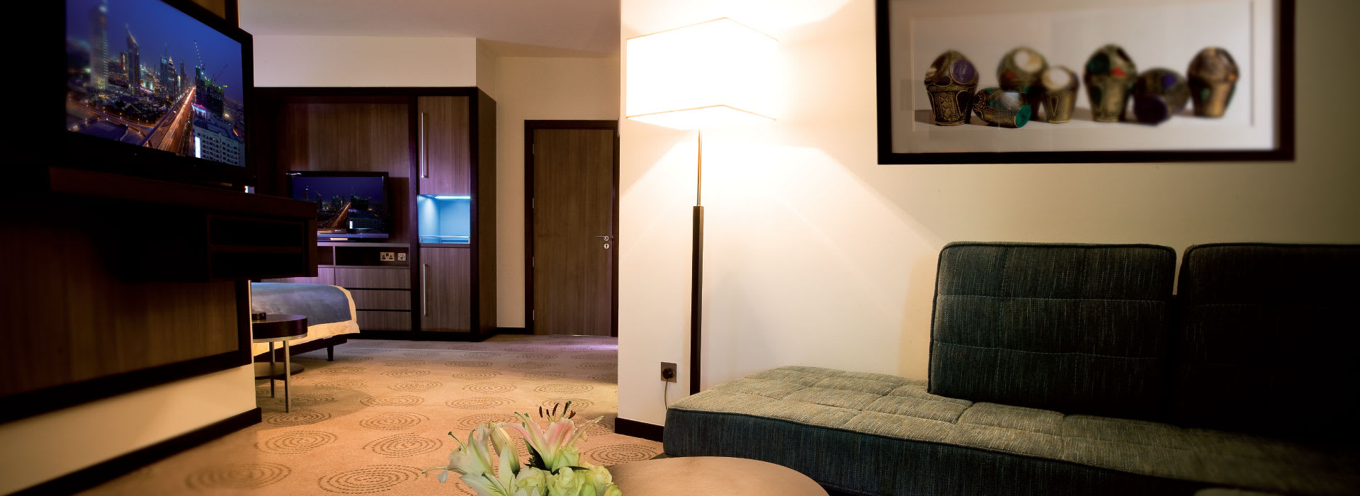 Interior of AVANI Deira junior suite