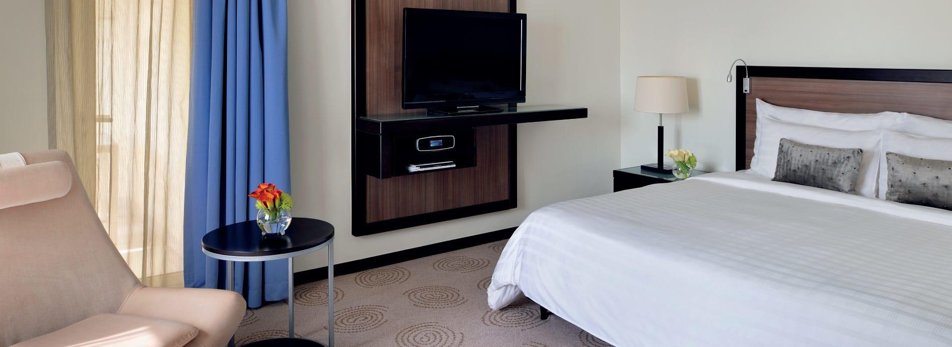 A junior suite at a hotel Dubai Deira