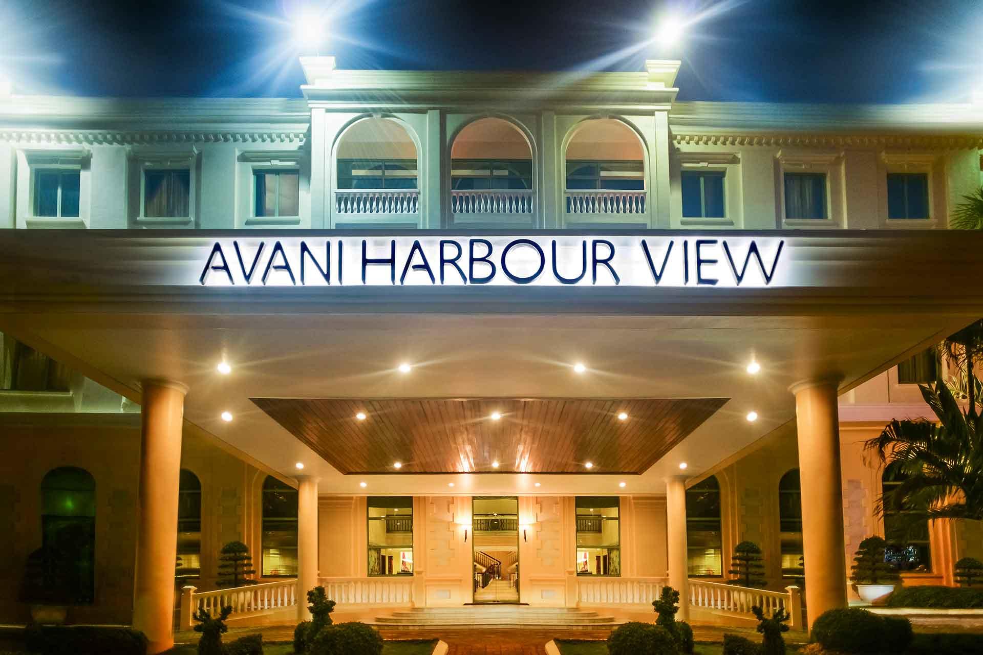 AVANI Harbour View hotel entrance