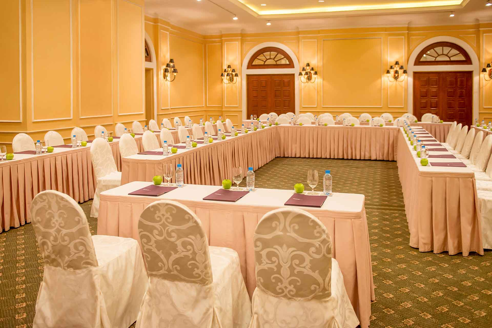 Interior of a meeting room at AVANI Hai Phong