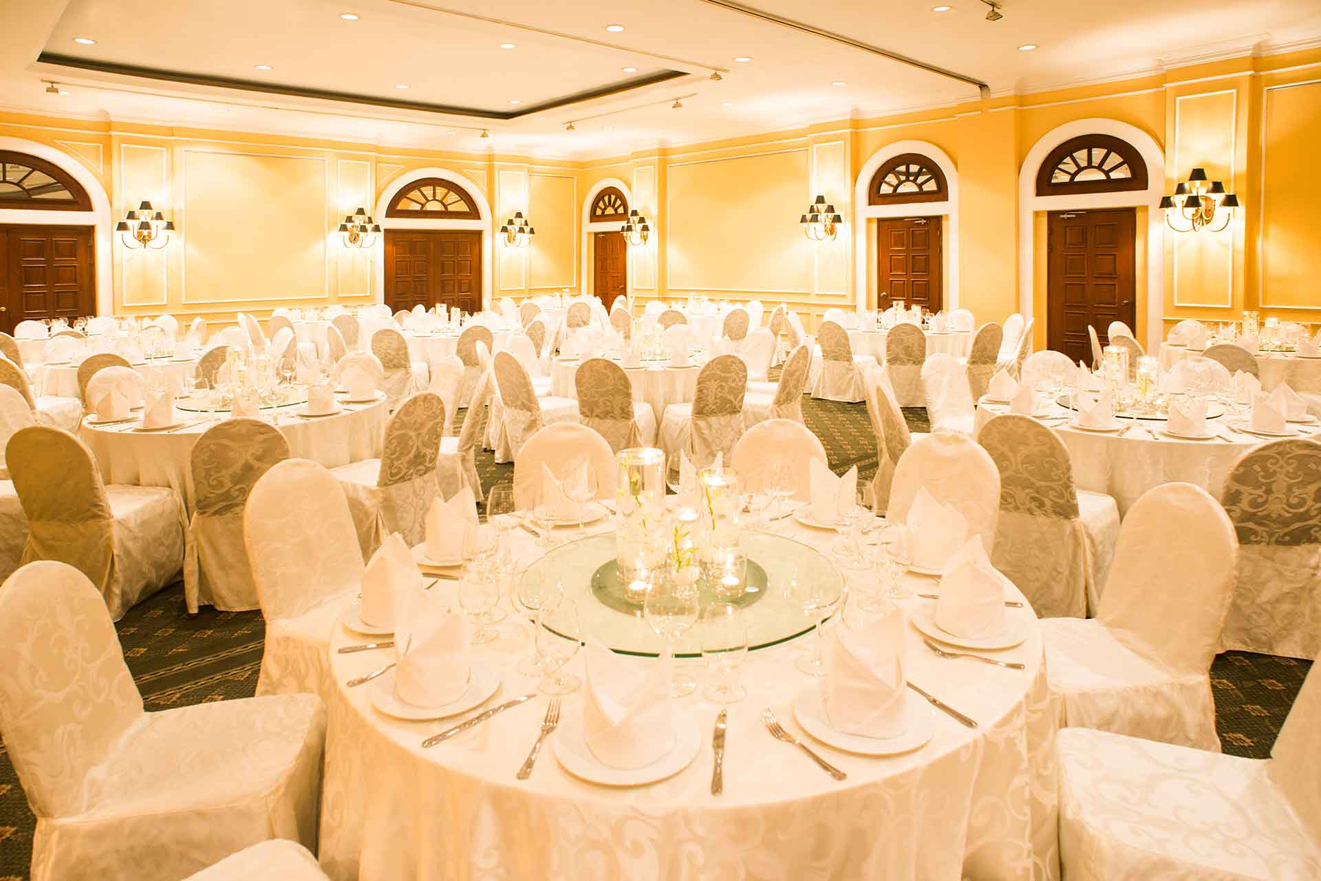 The banquet hall of AVANI Hai Phong
