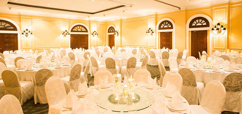 Banquet hall at AVANI Hai Phong Harborview hotel
