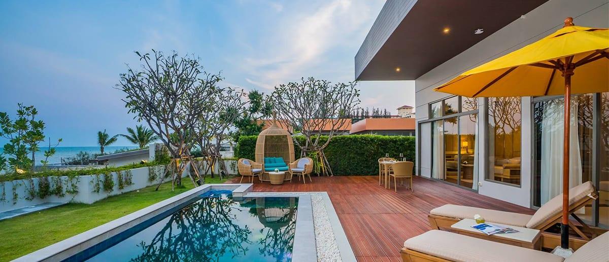 AVANI Hua Hin Sea View Villa at Dusk