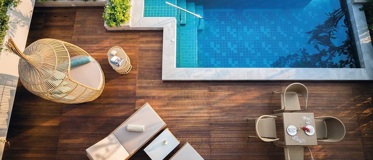AVANI Hua Hin Lagoon Pool Villa top view